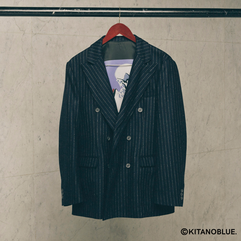 STRIPE DOUBLE JACKET