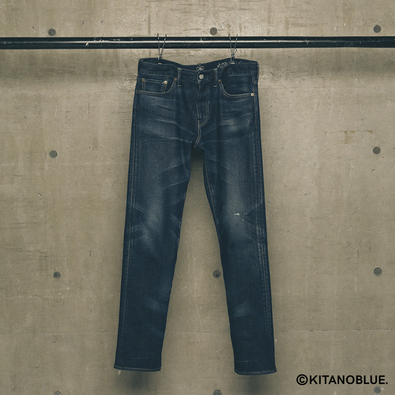 STRAIGHT SLIM DENIM